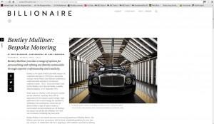 Billionaire Bentley