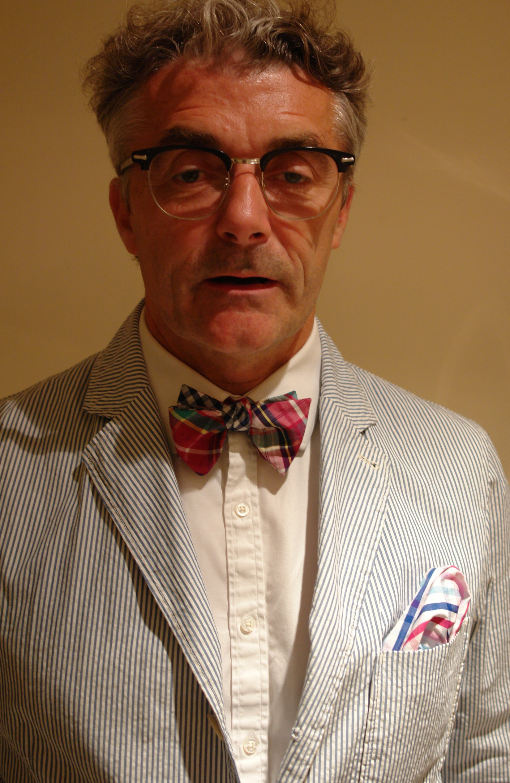 f9eaae7d85f2 Brooks Brothers bow tie - Eric Musgrave
