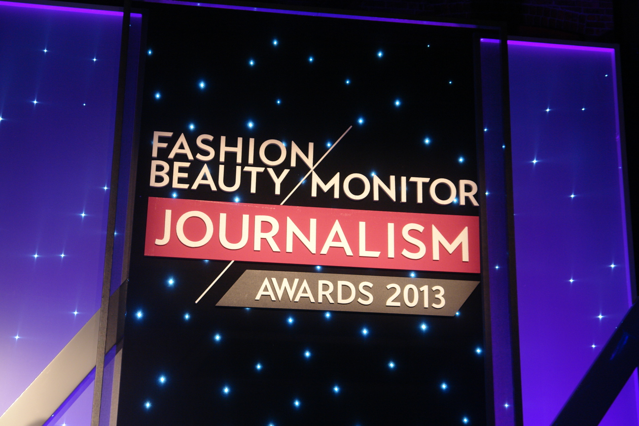 At The Fashion Monitor Journalism Awards