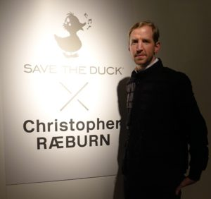 And Christopher Raeburn was on hand, being his usual charming self.