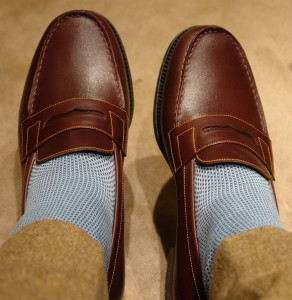 J M Weston loafers