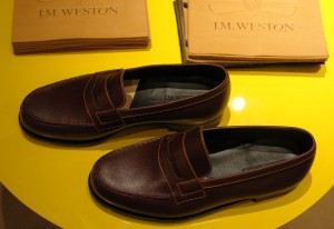 Loafers from J M Weston