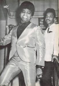 James Brown and Danny Rae