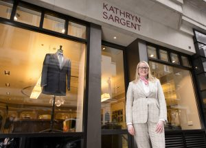 Kathryn Sargent, first Female Master Tailor to open own store on Savile Row