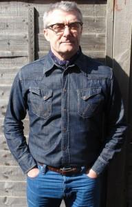 Wrangler shirt Candiani jeans