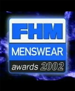 FHM Menswear Awards 2002