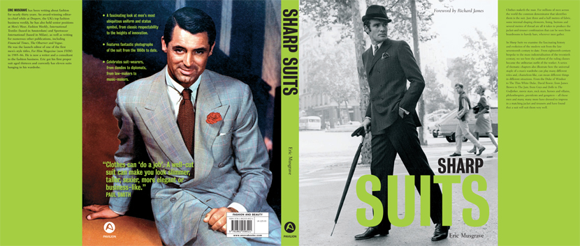 Sharp Suits Jacket Cover