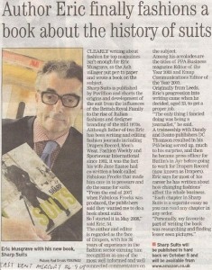 Sharp Suits in the Kent Mercury